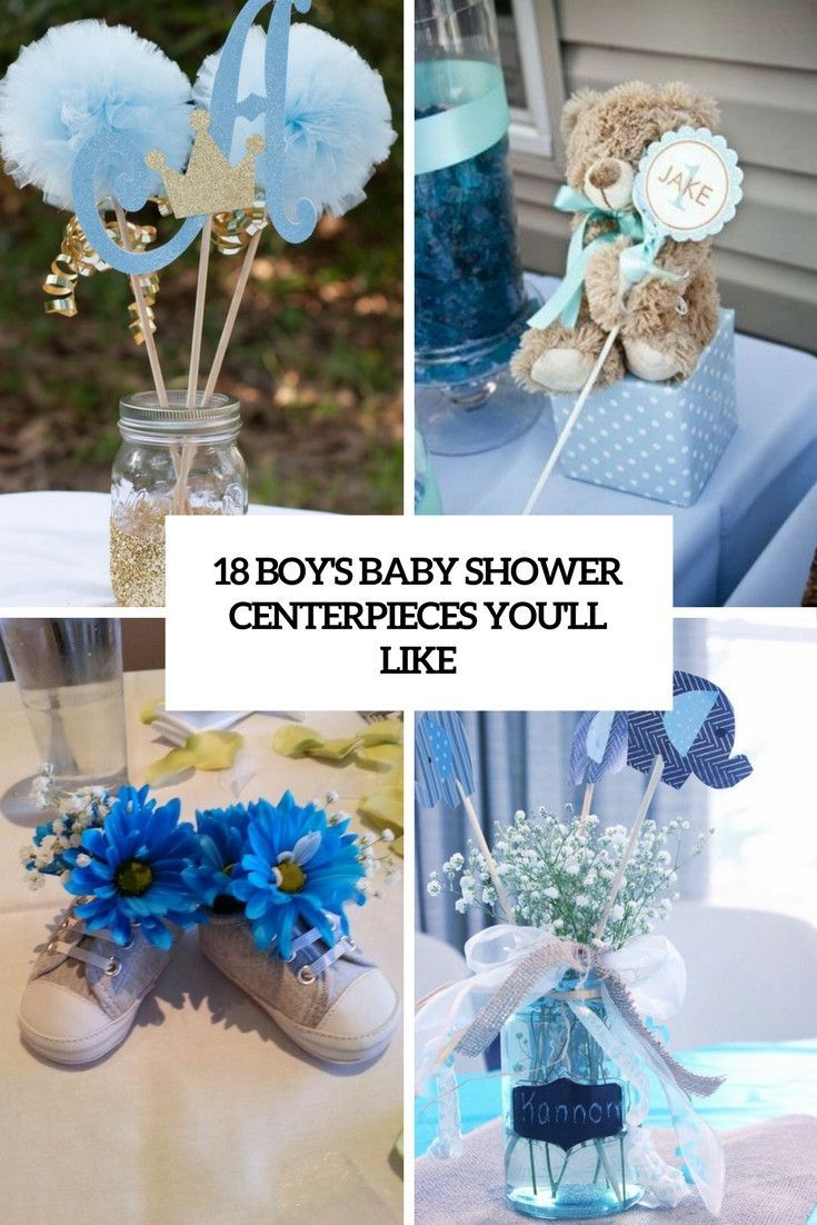 20 Ideas For Diy Baby Shower Centerpieces Boy Best Collections