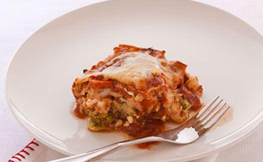 Epicure's Carrot, Broccoli and Cauliflower Lasagna