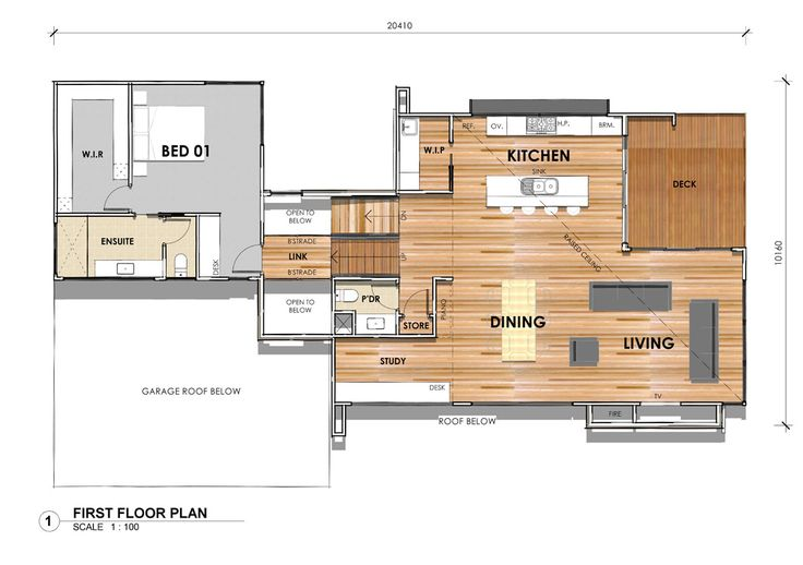 DS32: First Floor - Custom design home in Highton, Victoria. #floorplan #custombuilder #geelong