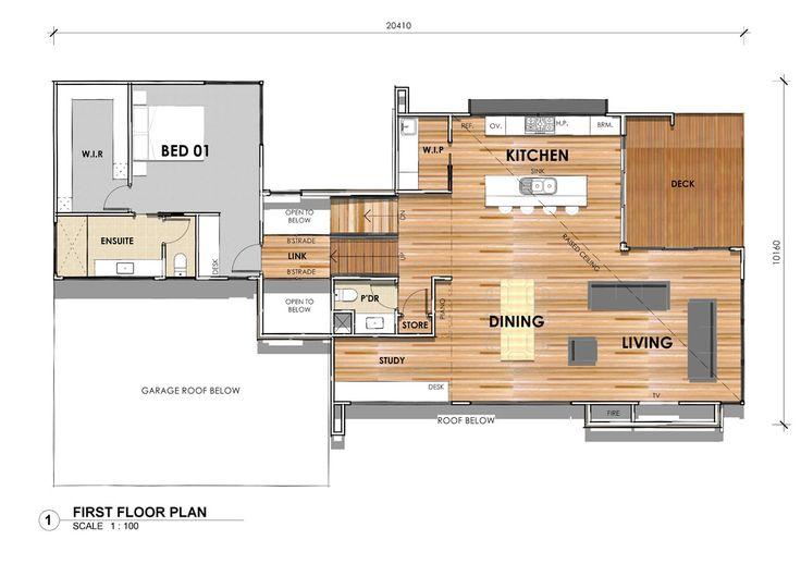 DS32: First Floor - Custom design home in Highton, Victoria. #floorplan #custombuilder #geelong