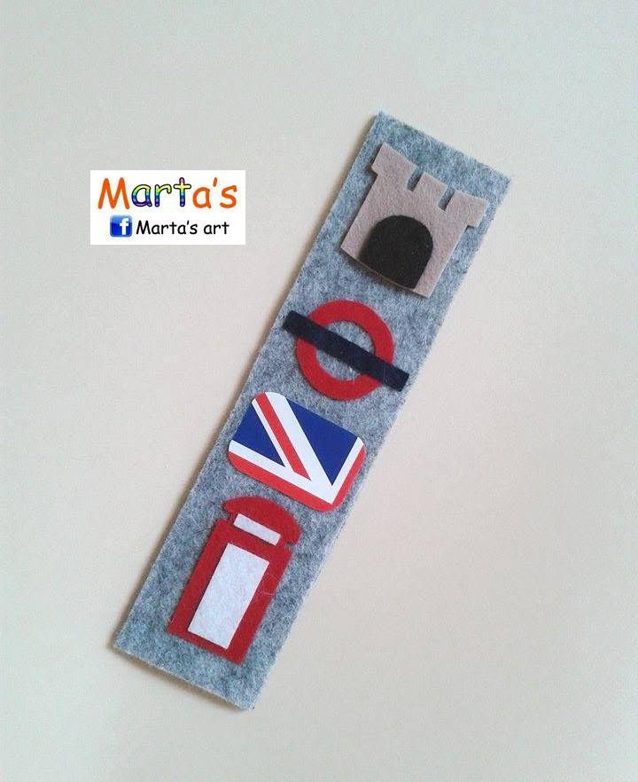 Felt Crafts Bookmarks