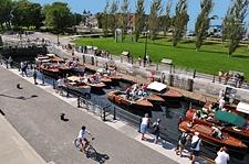 Lieu historique national du Canal-de-Lachine : activités nautiques
