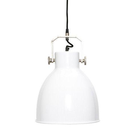 White Pendant Light - Trouva