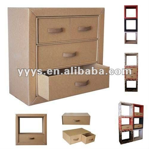 Best 25 cardboard storage ideas on pinterest decorative for Cardboard drawers ikea
