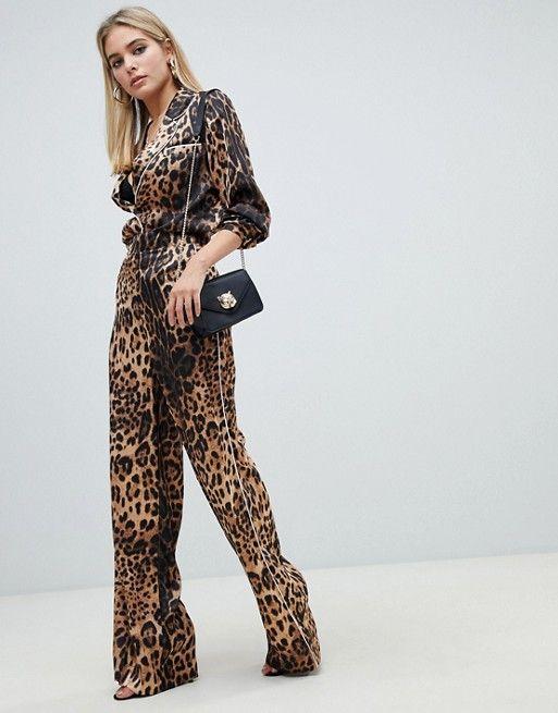 899c060a3 PrettyLittleThing Leopard Print Shirt Two-piece in 2019 | CUSTOM ...