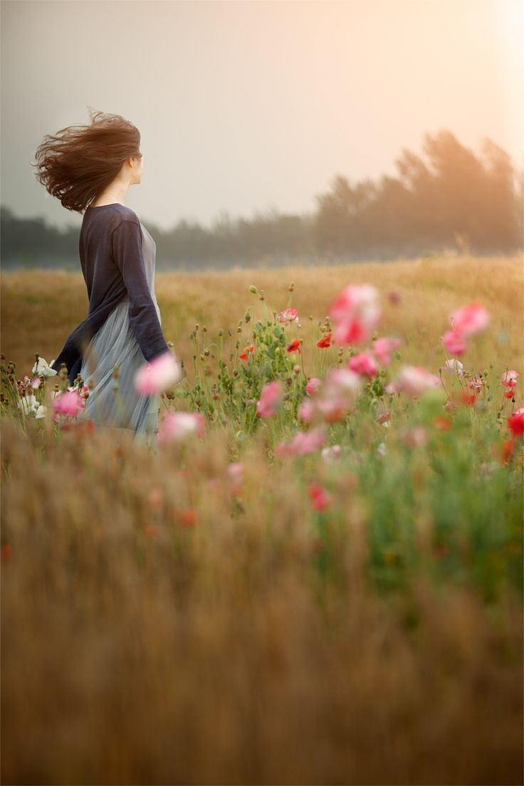 <3 I Love Wild Flower Fields, This is where I love to take a walk and have a little talk with God~ Kimberly