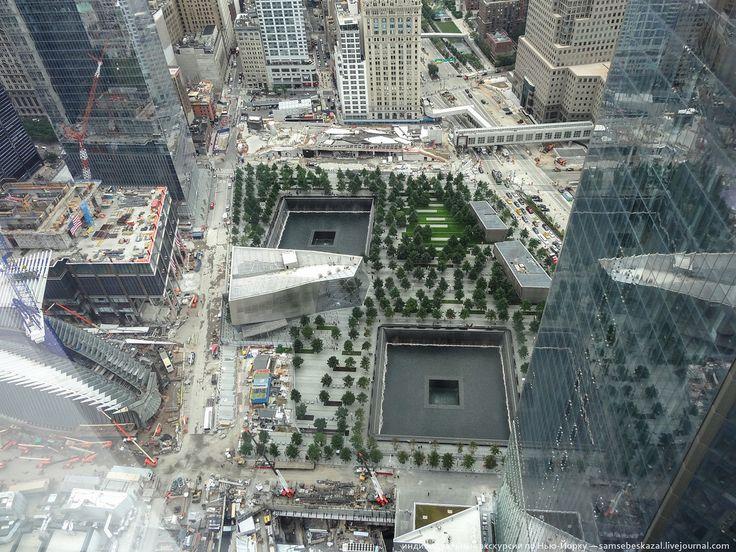 Станция Всемирный торговый центр, PATH, Нью-Йорк: subbotazh