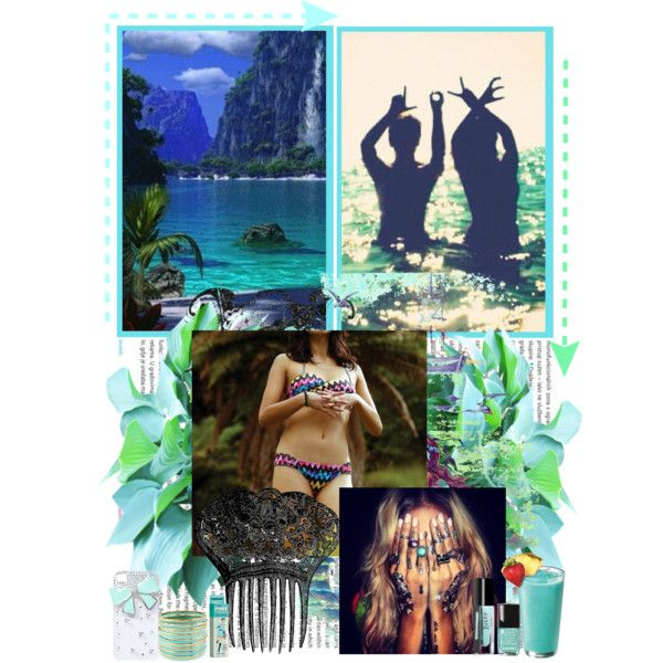 """""""Tropical Dreams"""" by freesiabell on Polyvore"""