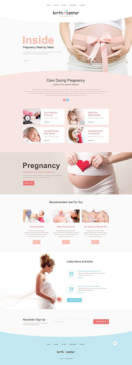Template 53836 - Birth Center Muse Template