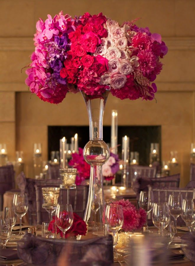 Stunning wedding centerpieces th edition lilacs