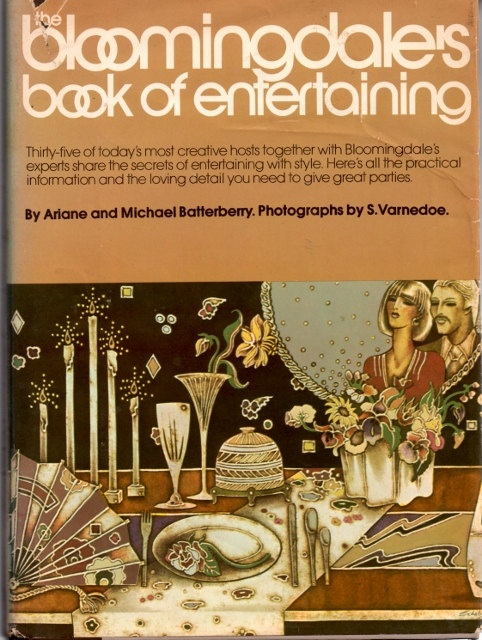 The Bloomingdales Book For Entertaining By Ariane TheBookBar