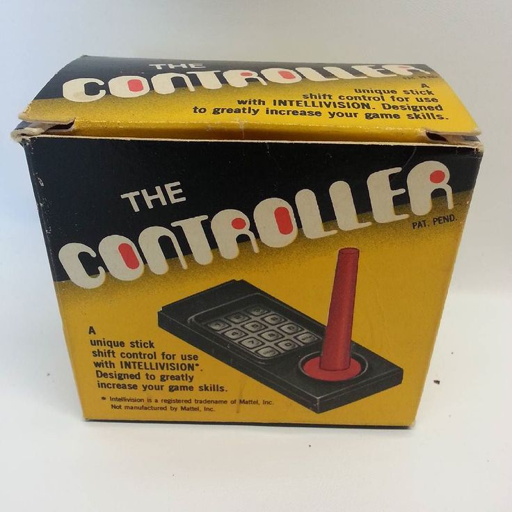 "On instagram by tradengames #intellivision #microhobbit (o) http://ift.tt/1p52mOf Add on joystick ""The Controller""   #intv #joystick #tng #tradengames #retrocollective"