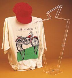 T Shirt Display : Blouse - T Shirt Display Frame.  best mannequin ever!
