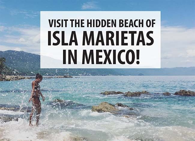 While the resort beaches of Cancun are worth seeing, you'd be missing out if you didn't find the secret beach on Isla Marietas, Mexico.