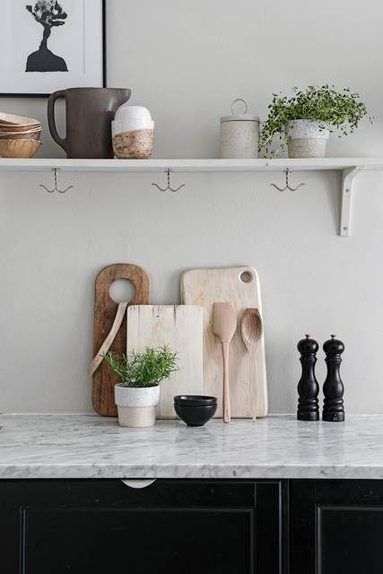 L\'appartamento per gli amanti dei toni neutri | Home-tour design ...