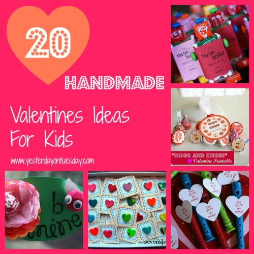 20 Handmade Valentines Ideas for Kids...these are all so cute. Going to do the pencil one!