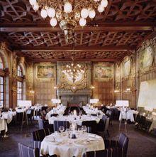 Operakallaren Main Dining Room in old opera house in Stockholm. was fab!