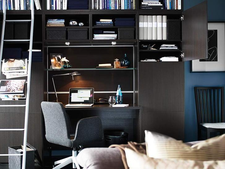 Best Design Idea Small Workspace Desk Interior