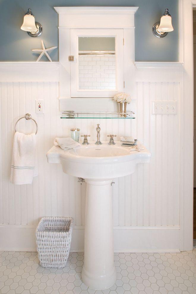 Cute-Glass-Shelf-home-remodel-Craftsman-Bathroom-New-York.jpg (660×990)