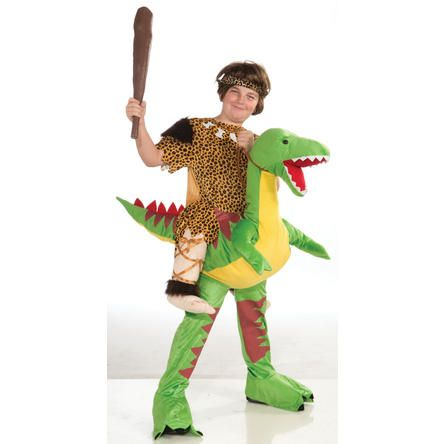 forum kids boys girls funny dinosaur dino rider halloween costume