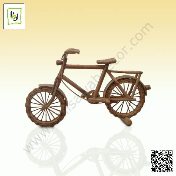 Bicycle Miniature has made by Rattan (SD10031001) powered by balisawahdecor.com