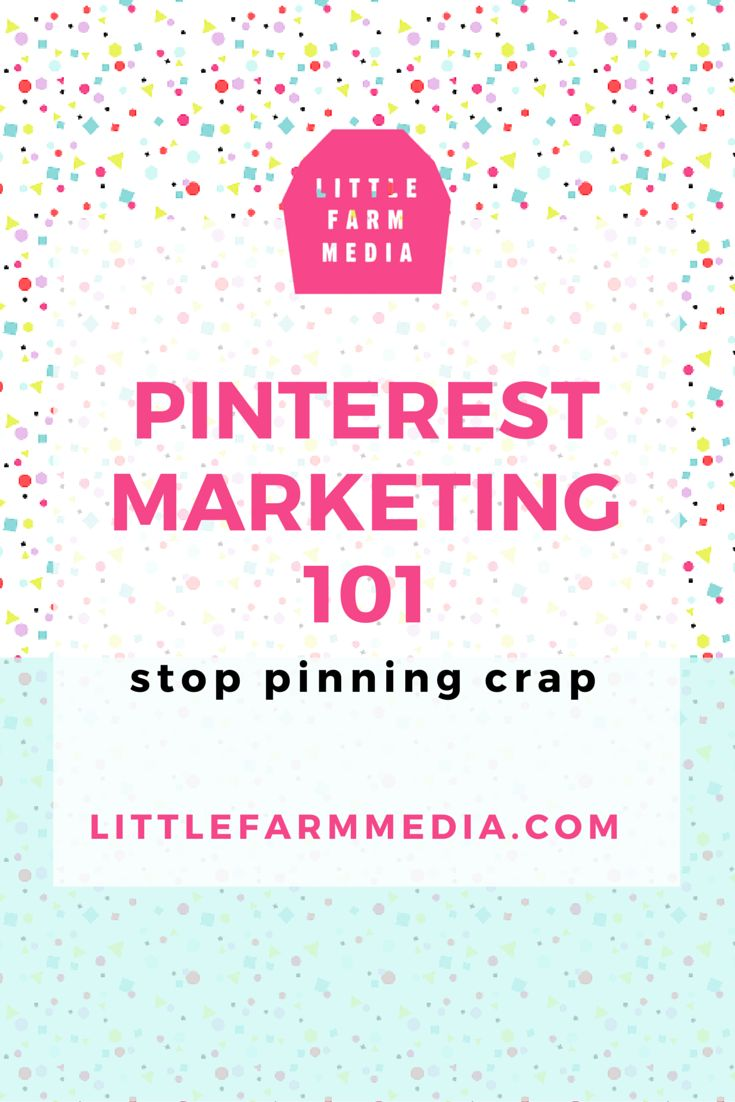 PINTEREST MARKETING — Little Farm Media