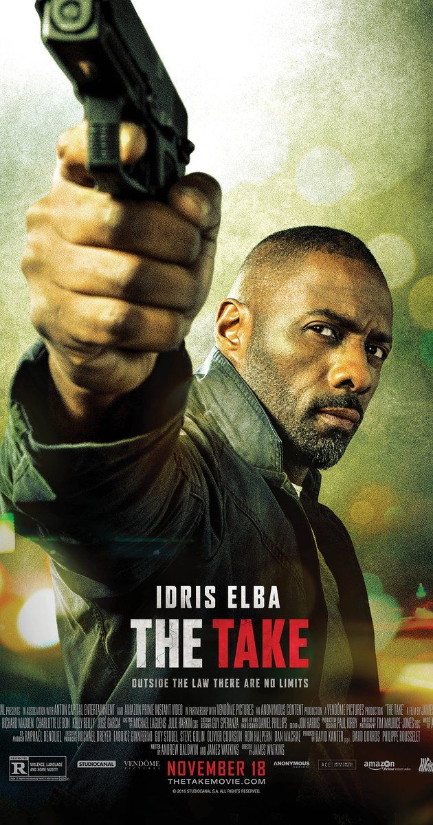 """Directed by James Watkins.  With Idris Elba, Richard Madden, Charlotte Le Bon, Kelly Reilly. A young con artist and an unruly CIA agent embark on an anti-terrorist mission in France. """"Taught, fast-paced story, well-executed, and solid performances all highlight this entertaining action/adventure, crime/thriller. Enjoyed the chemistry and humor between the leads."""""""