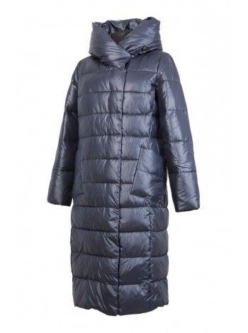 Пальто (темно-синий)