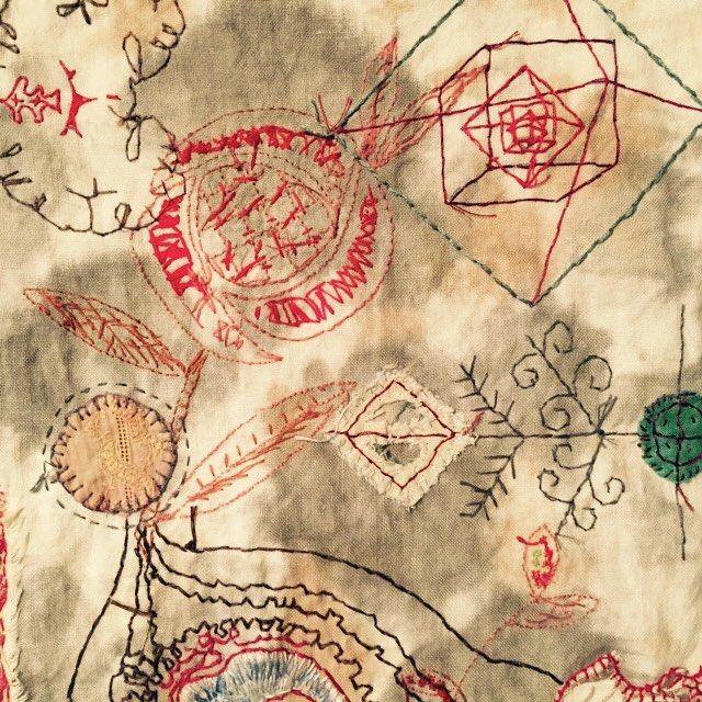 Willemien de Villiers | Personal Mythologies #contemporary_stitch