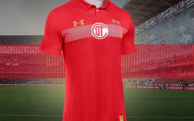 Toluca FC 100th Anniversary Under Armour Jersey