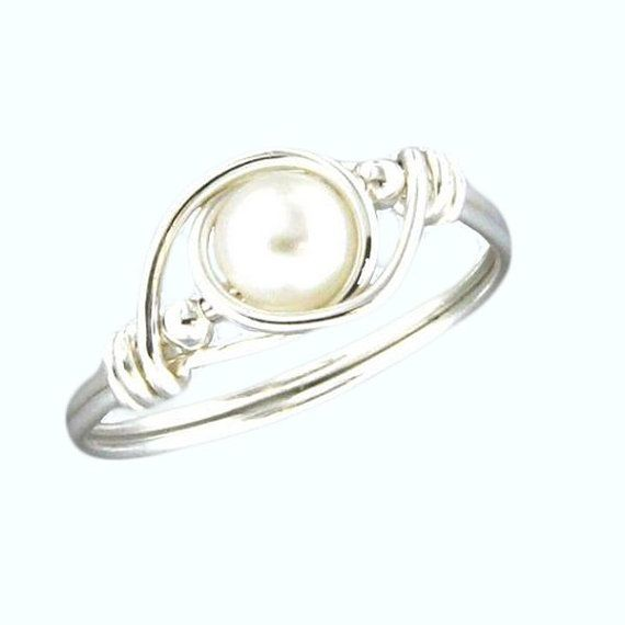 Handcrafted Pearl Ring