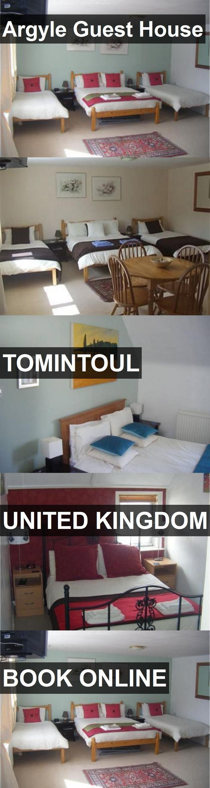 Argyle Guest House in Tomintoul, United Kingdom. For more information, photos, reviews and best prices please follow the link. #UnitedKingdom #Tomintoul #travel #vacation #guesthouse