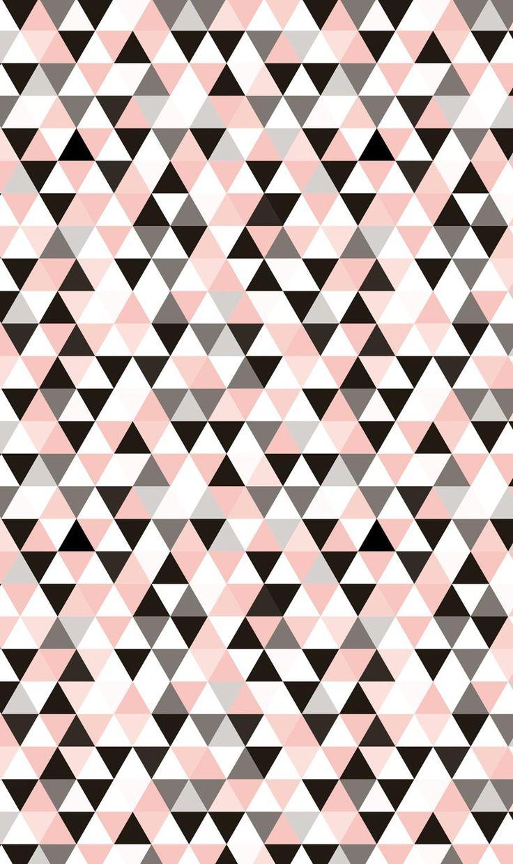 Papier Décopatch « Triangles cuivre », 3 pc. | Loisirs créatifs VBS Hobby