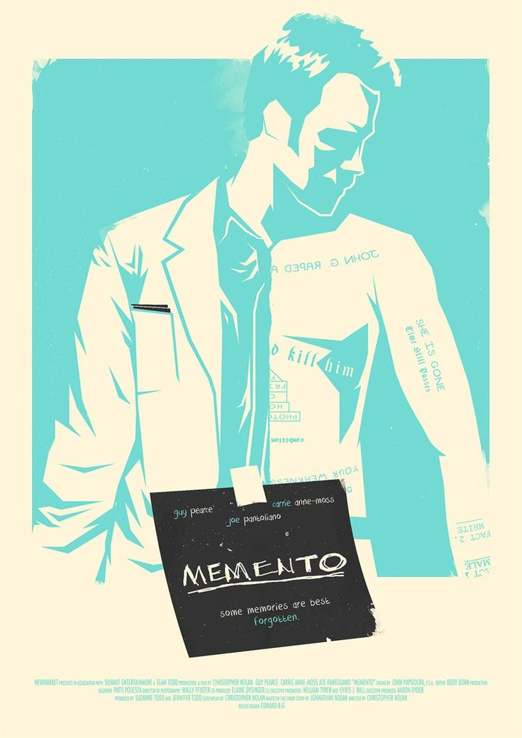 Memento Poster by RustyCharles