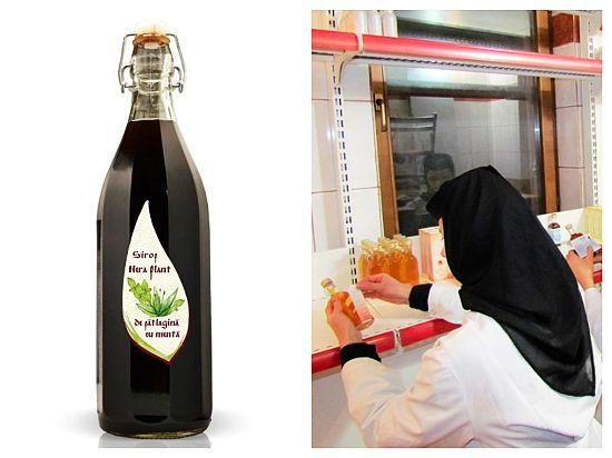 SIROP cu PĂTLAGINĂ și MENTĂ pentru purificarea sângelui și tratarea afecțiunilor RESPIRATORII – rețeta maicilor de la Mănăstirea Nera | La Taifas