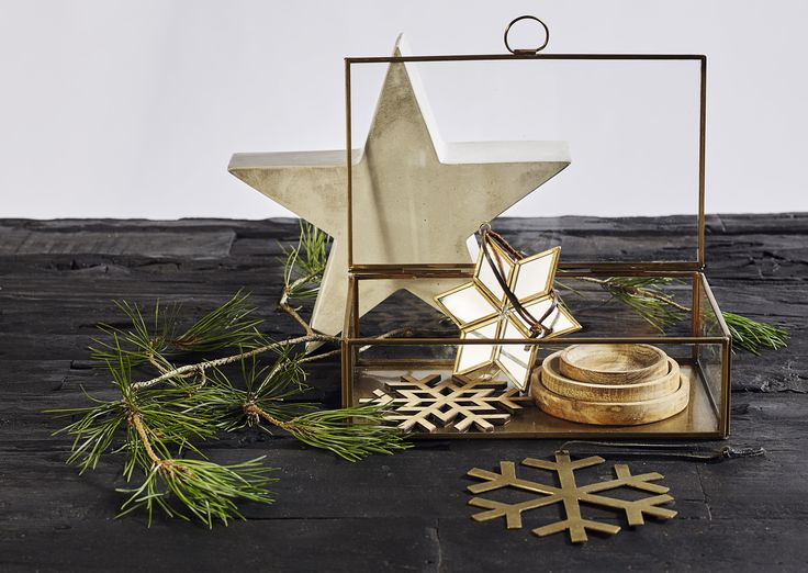 Muubs box line, Muubs concrete stars, Muubs snowflake ornaments