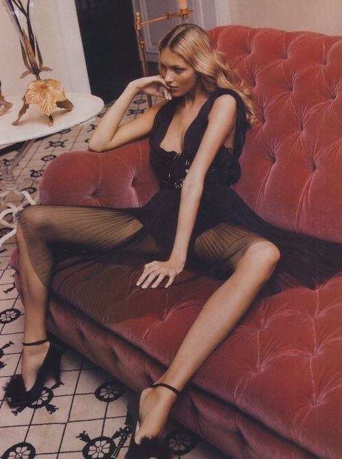 """Fantasmes"", Anja Rubik photographed by Inez & Vinoodh in..."