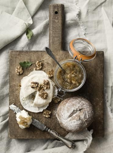 Pears! Marmelade with rosemary. Recipe, props and styling for Elle Mat & Vin. http://welldonesthlm.com/ Photo: http://www.jennygrimsgard.se/