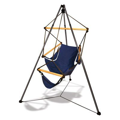 Outdoor Hammaka Tripod Stand With Hanging Cradle Chair   40031 KP | Tripod  And Products