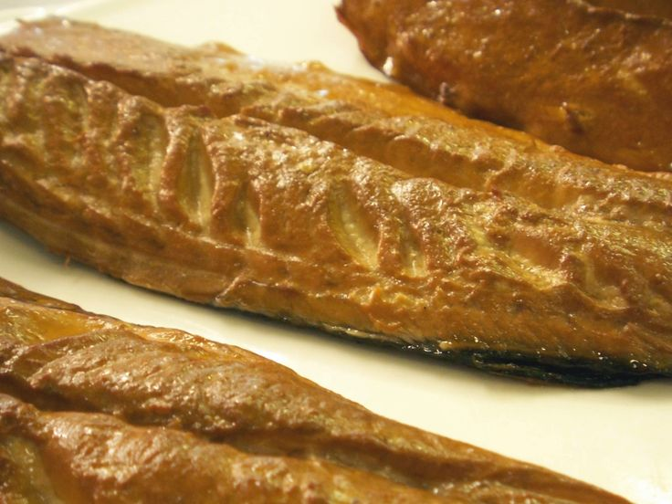 Home smoked trout at Milebrook House Hotel, Knighton, Powys