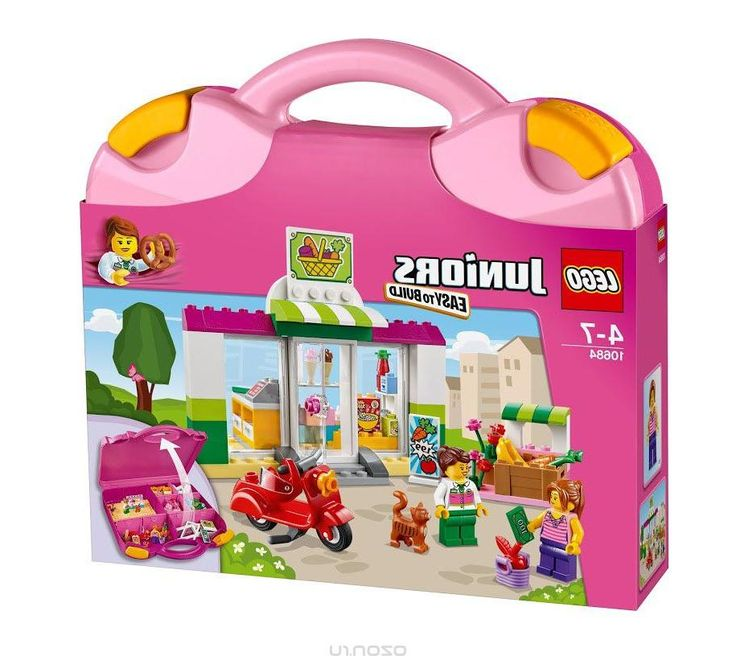 Lego Juniors Конструктор Чемоданчик Супермаркет 10684