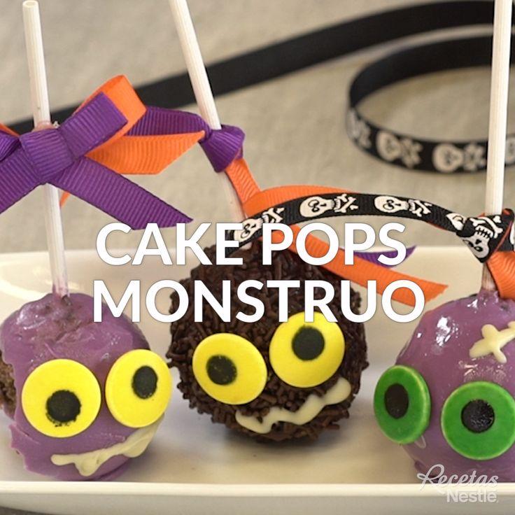 No podrás dejar de comer estas escalofriantes #CAKEPOPS #MONSTRUO ☢️ ¡Te encantarán! 🤩 Cake Pops, Cute Food, Yummy Food, Postres Halloween, Cupcake Cakes, Cupcakes, Creative Food Art, Food Humor, Cakes And More