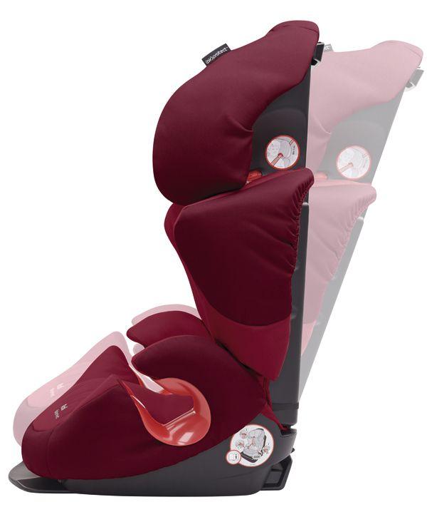 La silla para de auto #BébéConfort #Rodi AirProtect® 2015 ha sido especialmente diseñado para superar los tests de seguridad más rigurosos, aún más también es ligera, por lo que se puede cambiar de coche fácilmente.