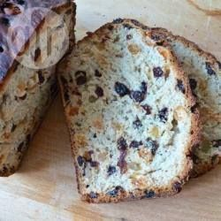 Krentenbrood van bakker Veerman - Bij reacties ook uitgelegd hoe je het in de broodbakmachine maakt