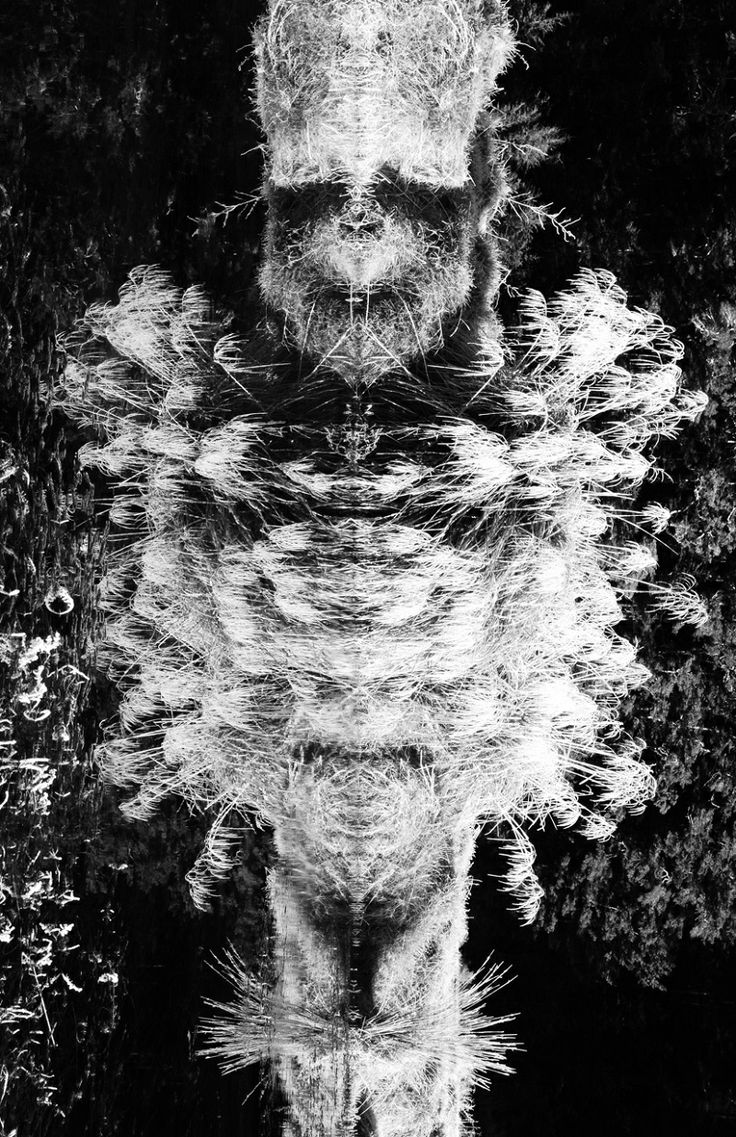 'Guardians …Male…Female A diptych' by Steve Thomson, Wellington. Photograph. 1 of 2