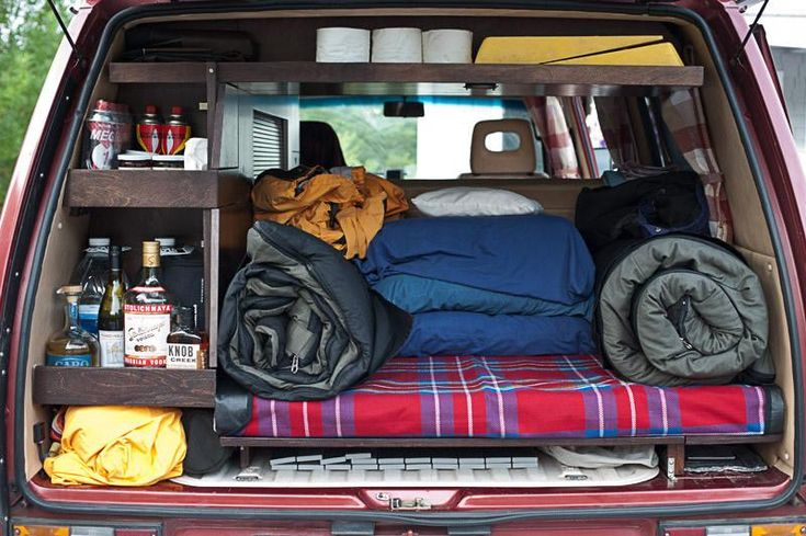VW interior storage