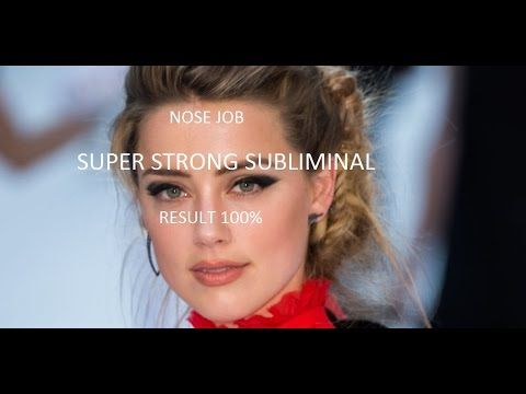 ENHANCED NOSE JOB | SUPER STRONG SUBLIMINAL | 100% RESULT