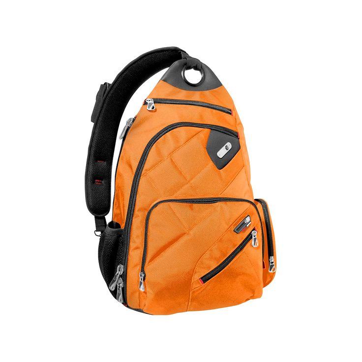 Ful Brick House Backpack - Black & Orange (18)