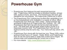 We carry all styles of cheap and affordable fitness wear for men, such as the world renowned official Gold's Gym shirts, easy fit Golds Gym bodybuilding tank tops, workout clothing, gym gear and fitness accessories for weight trainers.  www.bestforminc.com