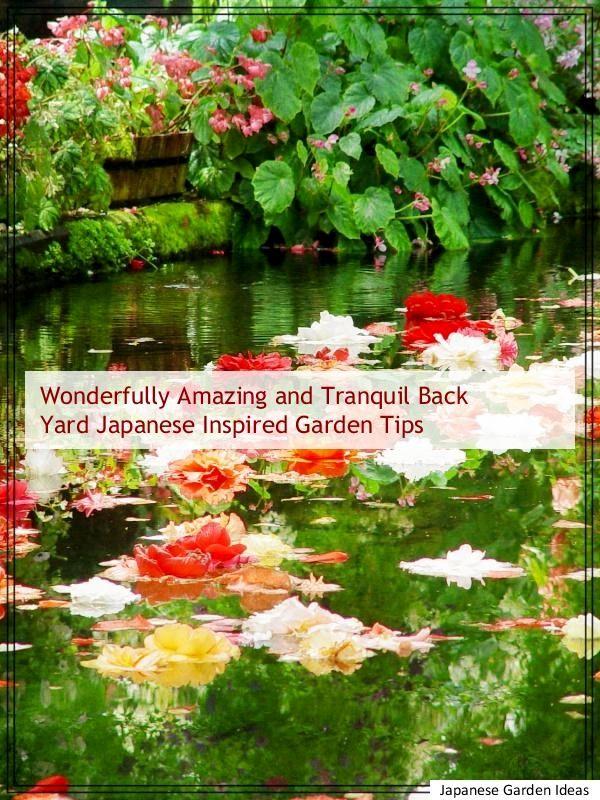 5 Wonderfully Amazing and Tranquil Back Yard Japanese Style Garden